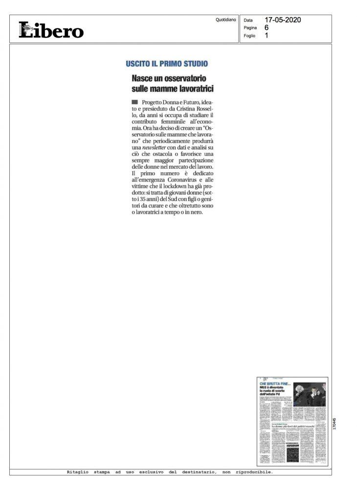 OSSERVATORIO PDeF – 17 MAGGIO 2020